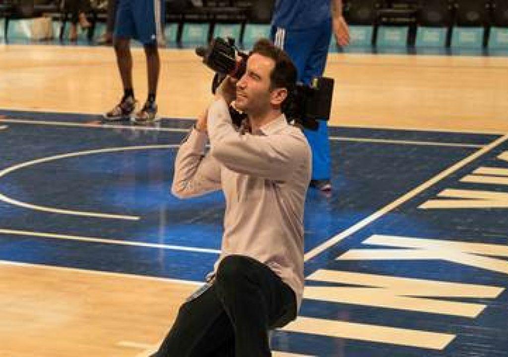Shot Maker: Tom Zweibel and New York Knicks Score with Sony FS7 1