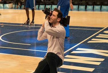 Shot Maker: Tom Zweibel and New York Knicks Score with Sony FS7 8