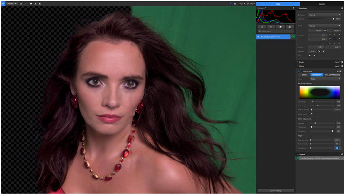 Imerge Pro, the world's first RAW image compositor