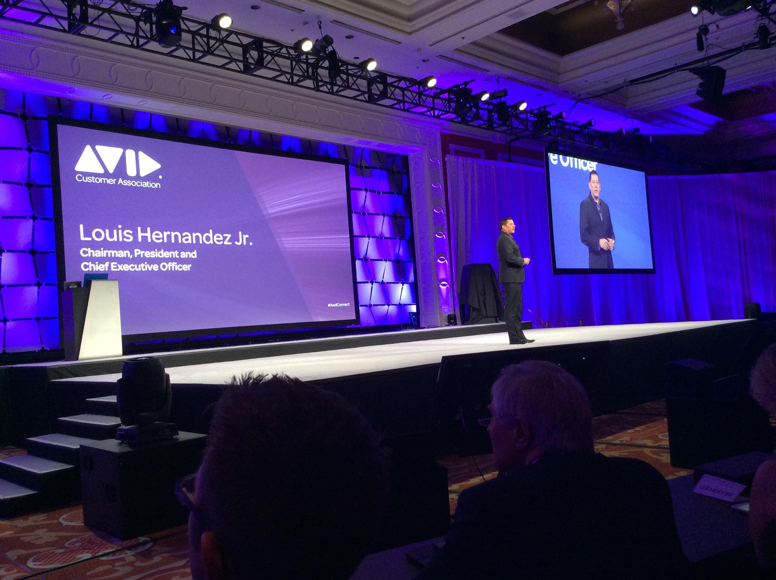 Avid Connect 2016 Keynote at NAB 2016 4