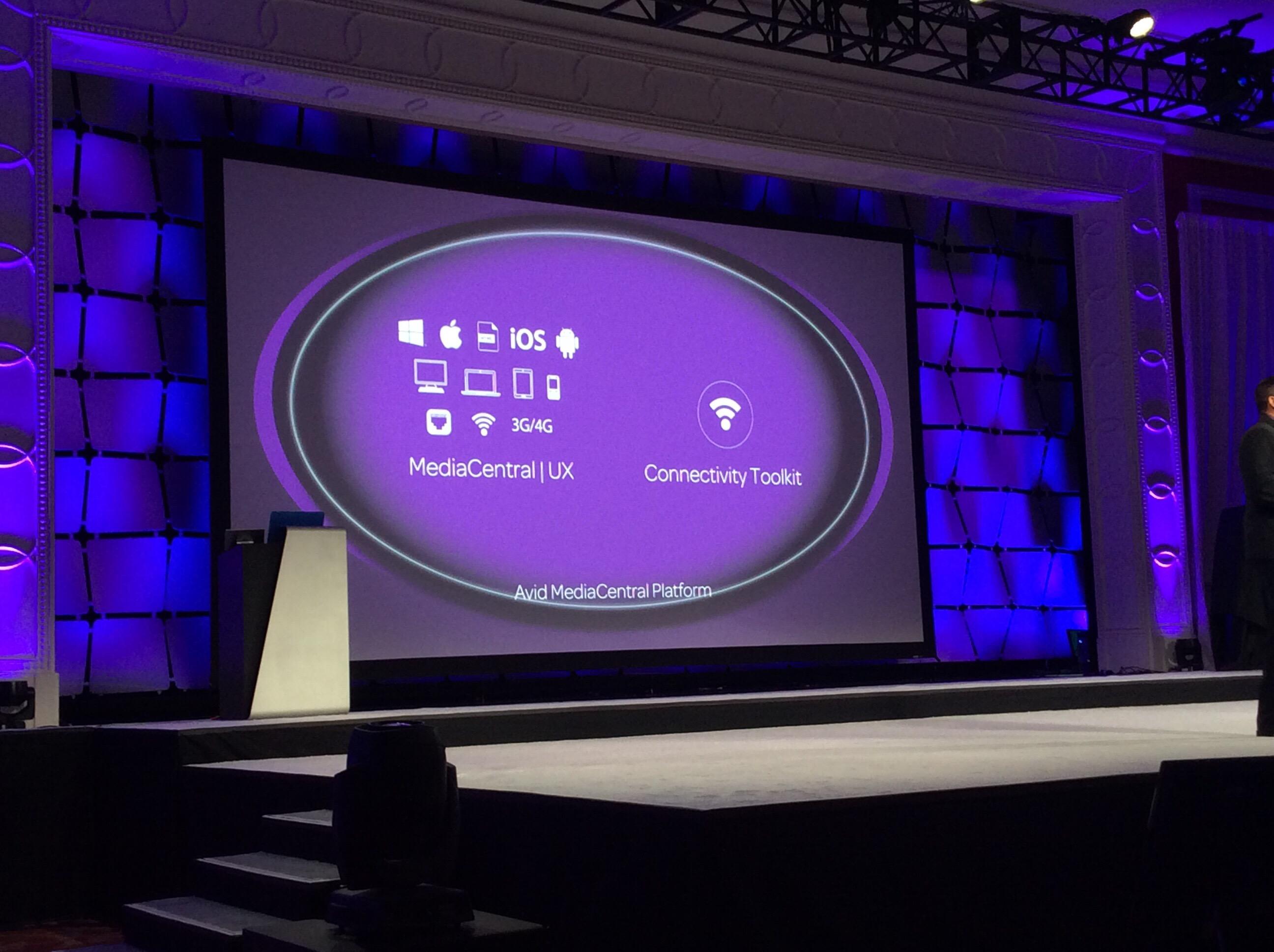 Avid Connect 2016 Keynote at NAB 2016 9