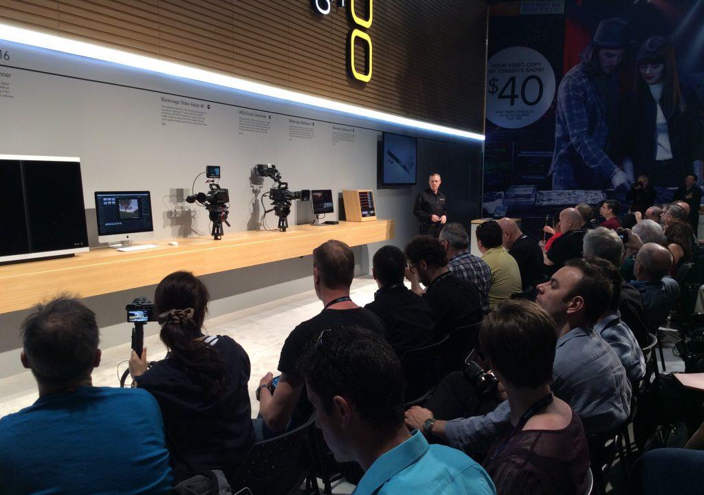 The Blackmagic Press Conference at NAB 13