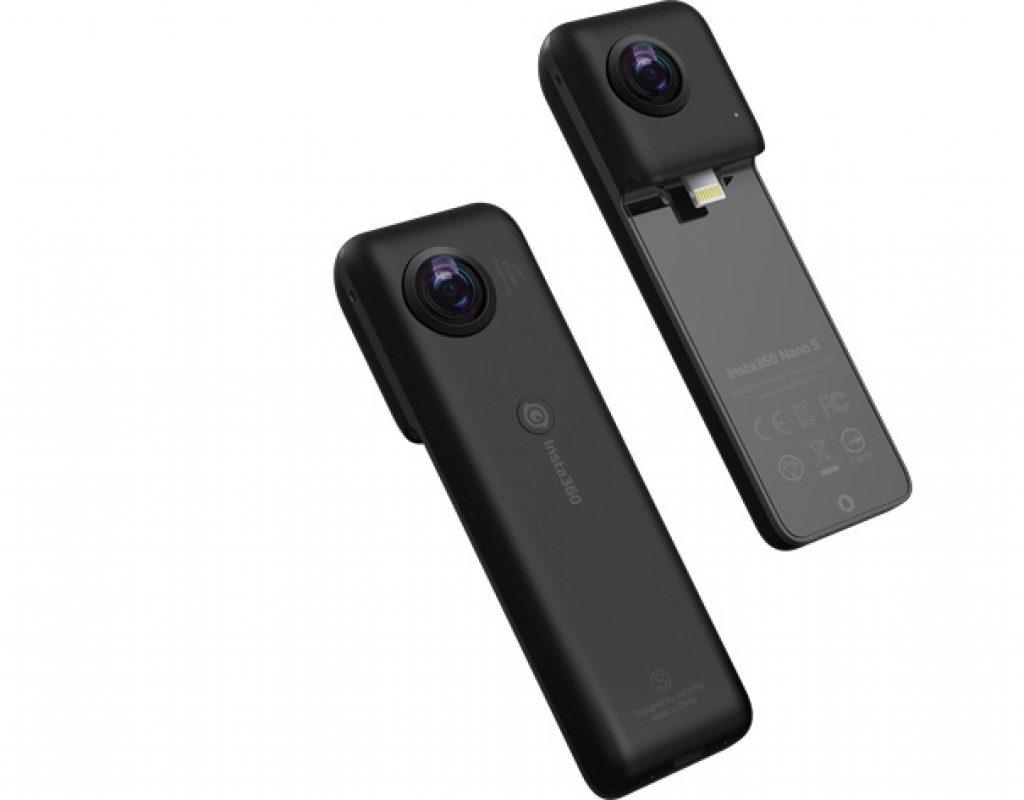 Insta360 Nano S: a 4K 360 video camera for iPhone
