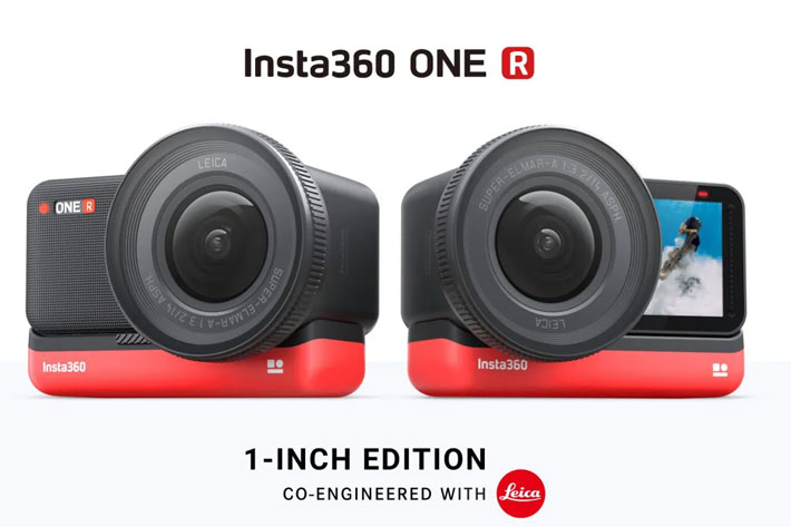 Leica and Insta360 want to reinvent the action cam with the Insta360 ONE R