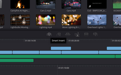 DaVinci Resolve 16 adds LUFS audio loudness standards + linear features. 9