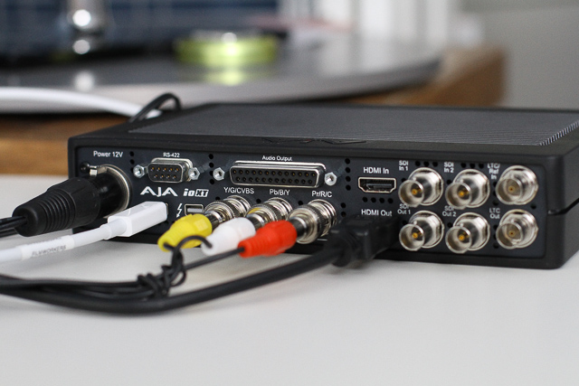 Comparing two Thunderbolt capture and playback devices 47