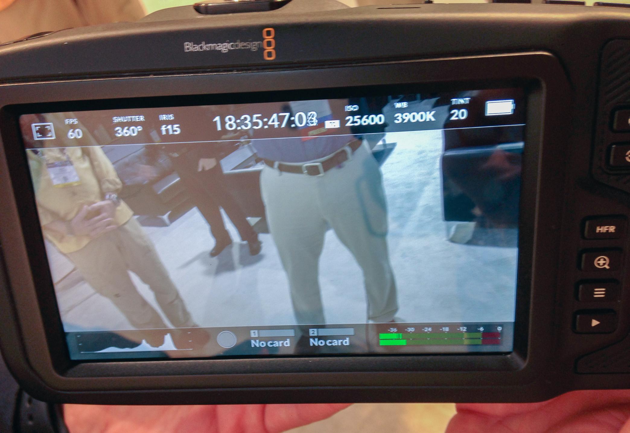 NAB 2018: Blackmagic Design Pocket Cinema Camera 4K Video