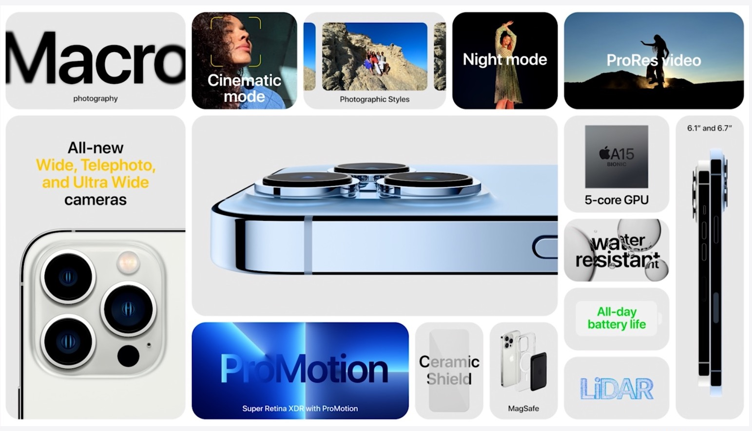 ProRes recording, Cinematic Mode and more with iPhone 13 Pro 18