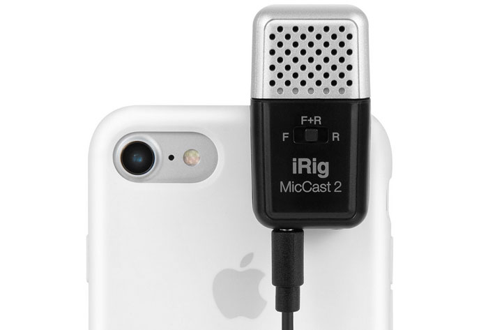 New iRig microphones and iRig Stream for smartphones and cameras 1