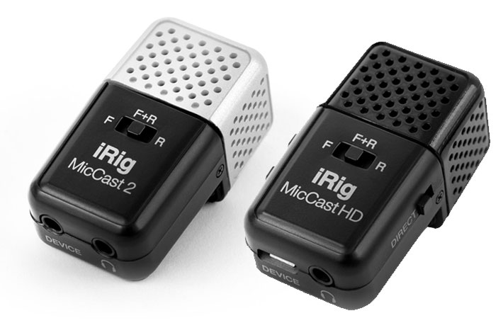 New iRig Mics and iRig Stream for better sound on the move