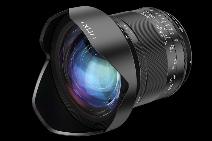 Irix 11mm: designed for DSLR cameras