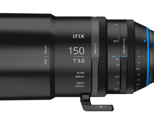 Irix Cine 150mm T 3.0 Macro 1:1 lens: the first in a new line of full frame lenses 3