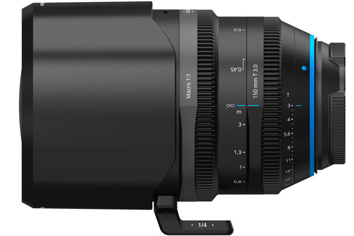 Irix Cine 150mm T 3.0 Macro 1:1 lens: the first in a new line of full frame lenses 7