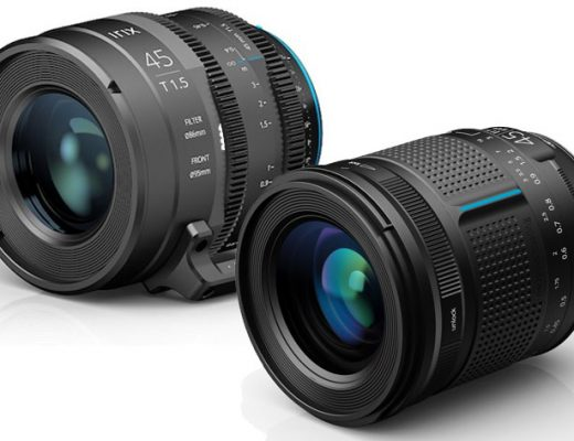 Irix 45mm: now you've a version for stills and one for Cinema