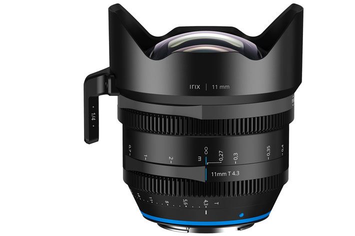 Irix 11mm T4.3: the second Cine lens from Irix