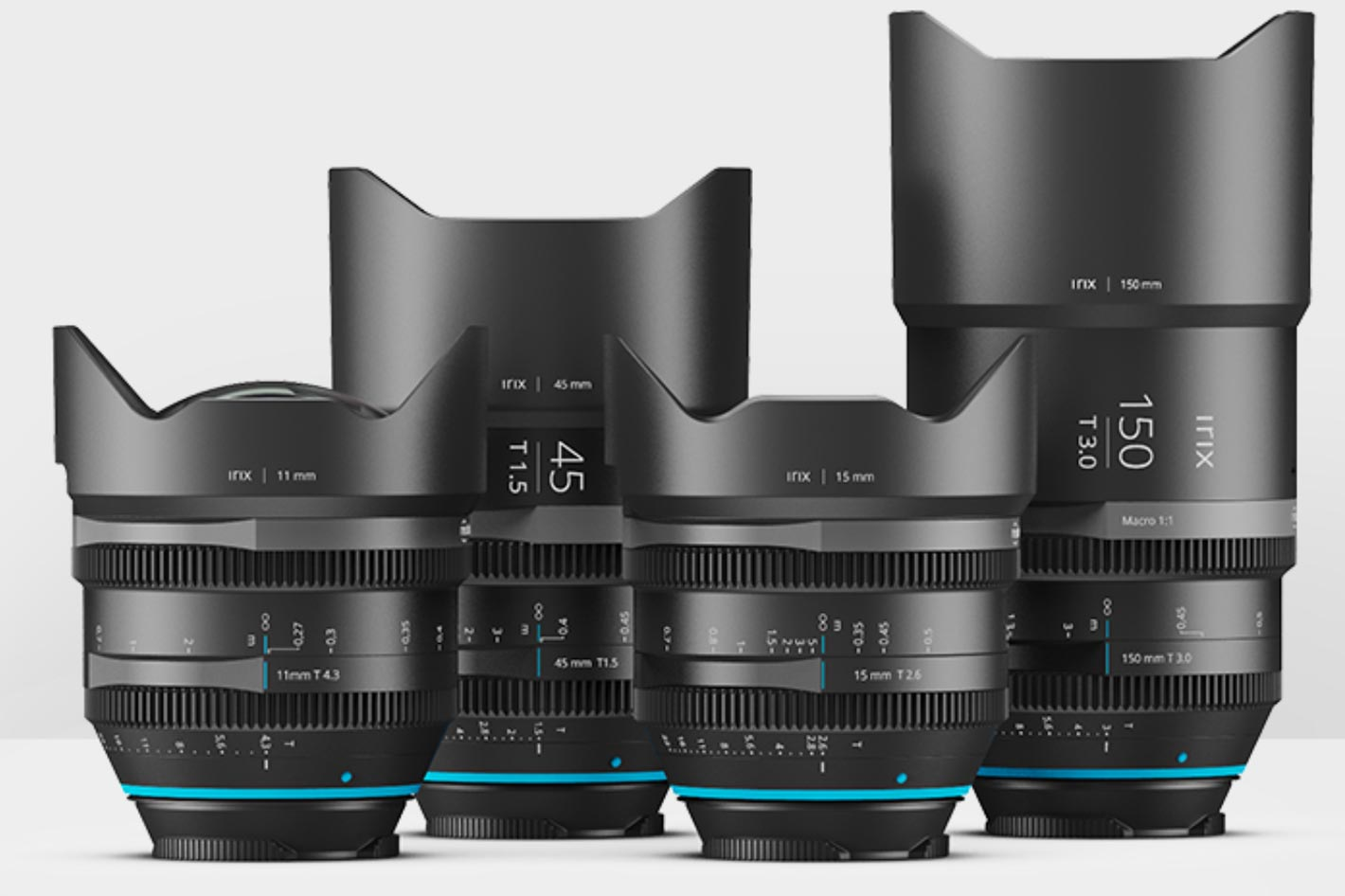 Irix Cine lenses for Canon RF, Nikon Z and L mounts