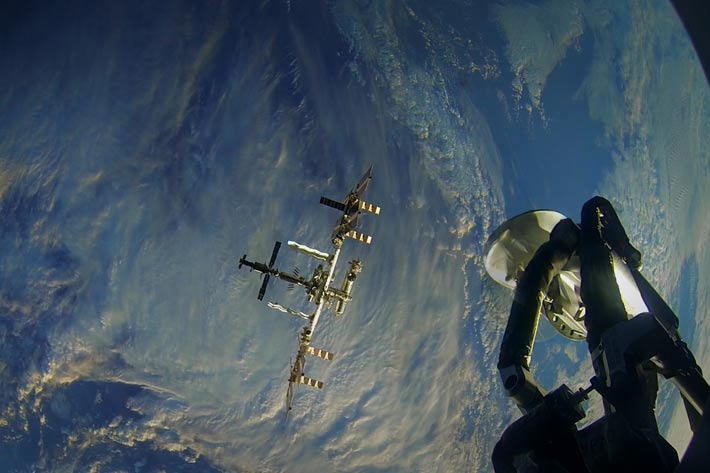 First-ever 3D VR filmed in space: One Strange Rock