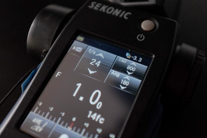Sekonic L-858D Light Meter Review 24