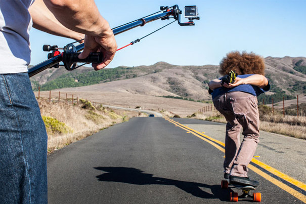Hollywood Style Shots With Joby's Action Jib 1