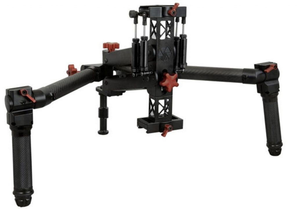Jockey gimbal: true 4-axis stabilization 1