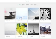 A FREE portfolio template for photographers