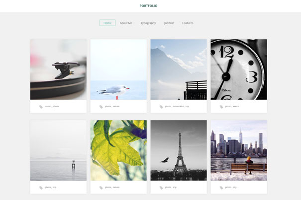 A FREE portfolio template for photographers 13