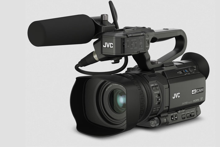 JVC GY-HM250: the first Facebook Live professional camcorder