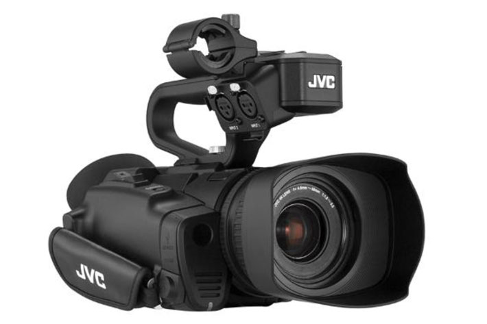 JVC GY-HM250: the first professional camcorder with Facebook Live 1