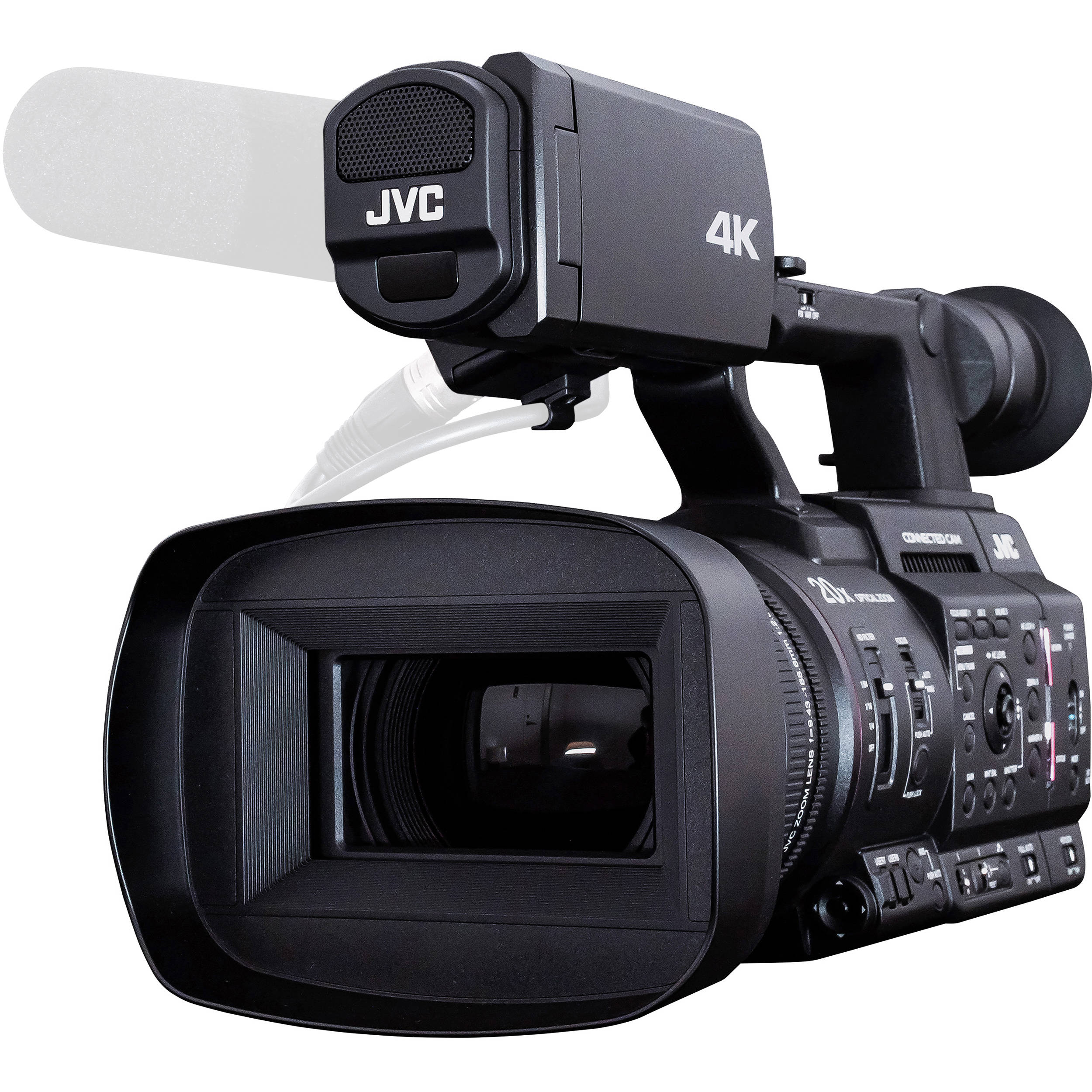 GY-HC500 & GY-HC550: JVC's new cameras break the 10-bit barrier + add ProRes & J-Log1 (10-bit) for HDR 10