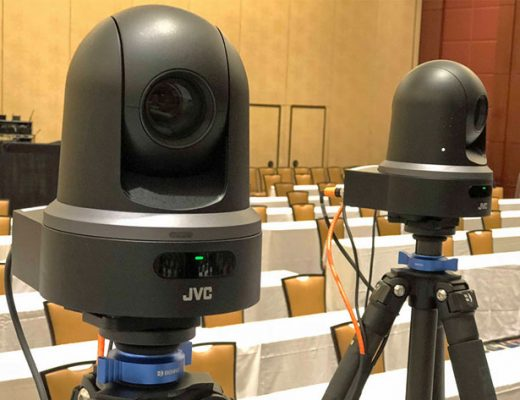 JVC KY‑PZ100 robotic PTZ video cameras reduce costs and streamline productions