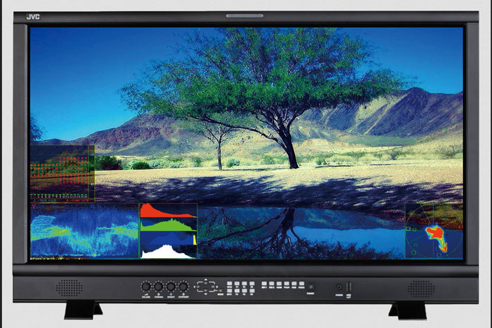 JVC reveals affordable 31-inch UHD/4K monitors for broadcast and live production