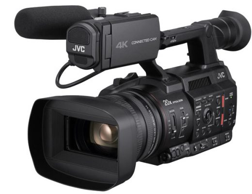 JVC GY-HC500U 4K camcorder: buy one, get a FREE media adapter and 1TB SSD