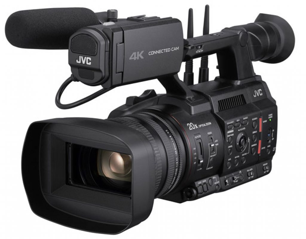 JVC Professional Video unveils SRT support for Connected Cam