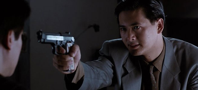"Image from John Woo's ""The Killer"" (used without permission)"