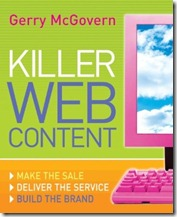 killer web content cover