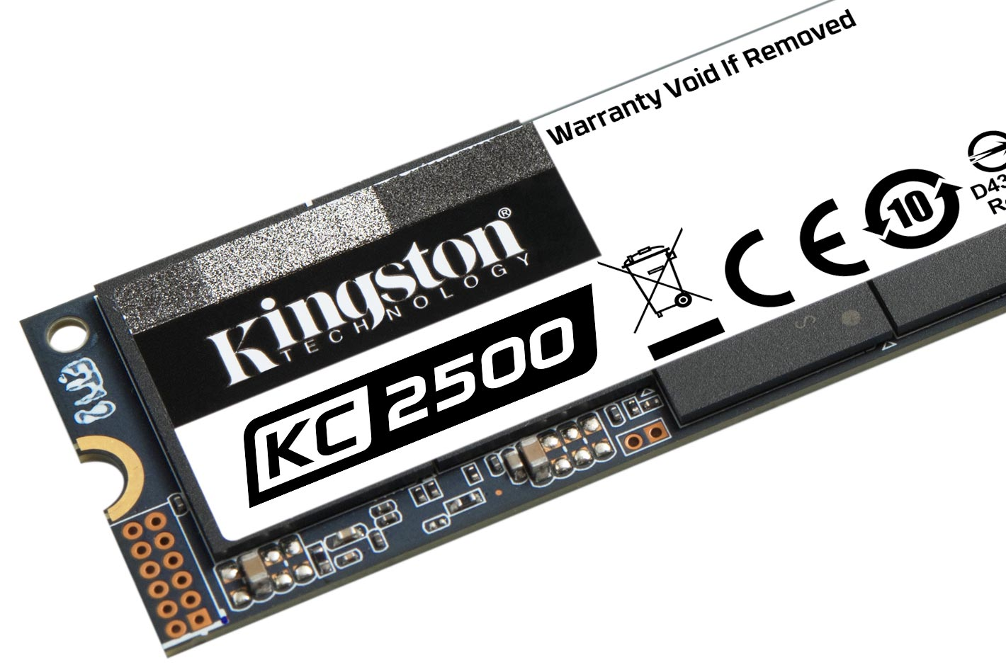 Kingston ships 2TB KC2500 NVMe PCIe SSD with encryption options