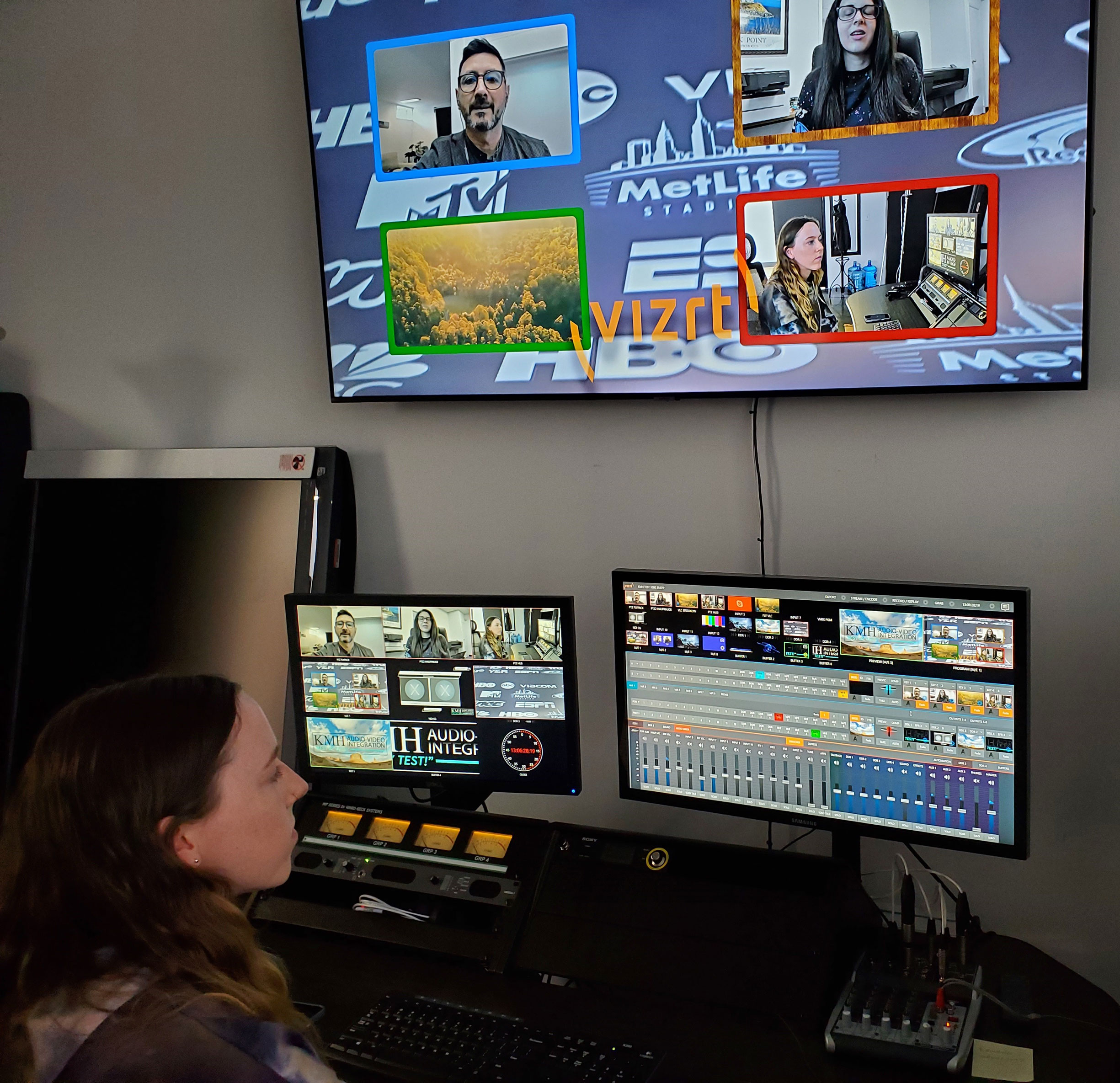 KMH's NDI streaming lab is open for business