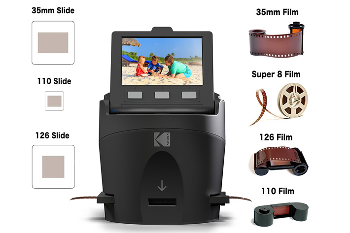 KODAK announces a scanner and three projectors