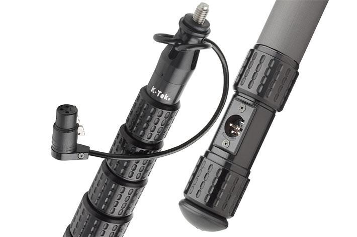 K-Tek unveils KlassicPro Boom Poles