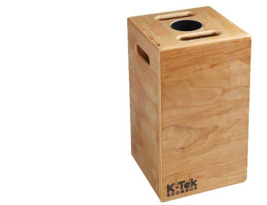 The K-Tek Boom Box doubles as an Apple Box