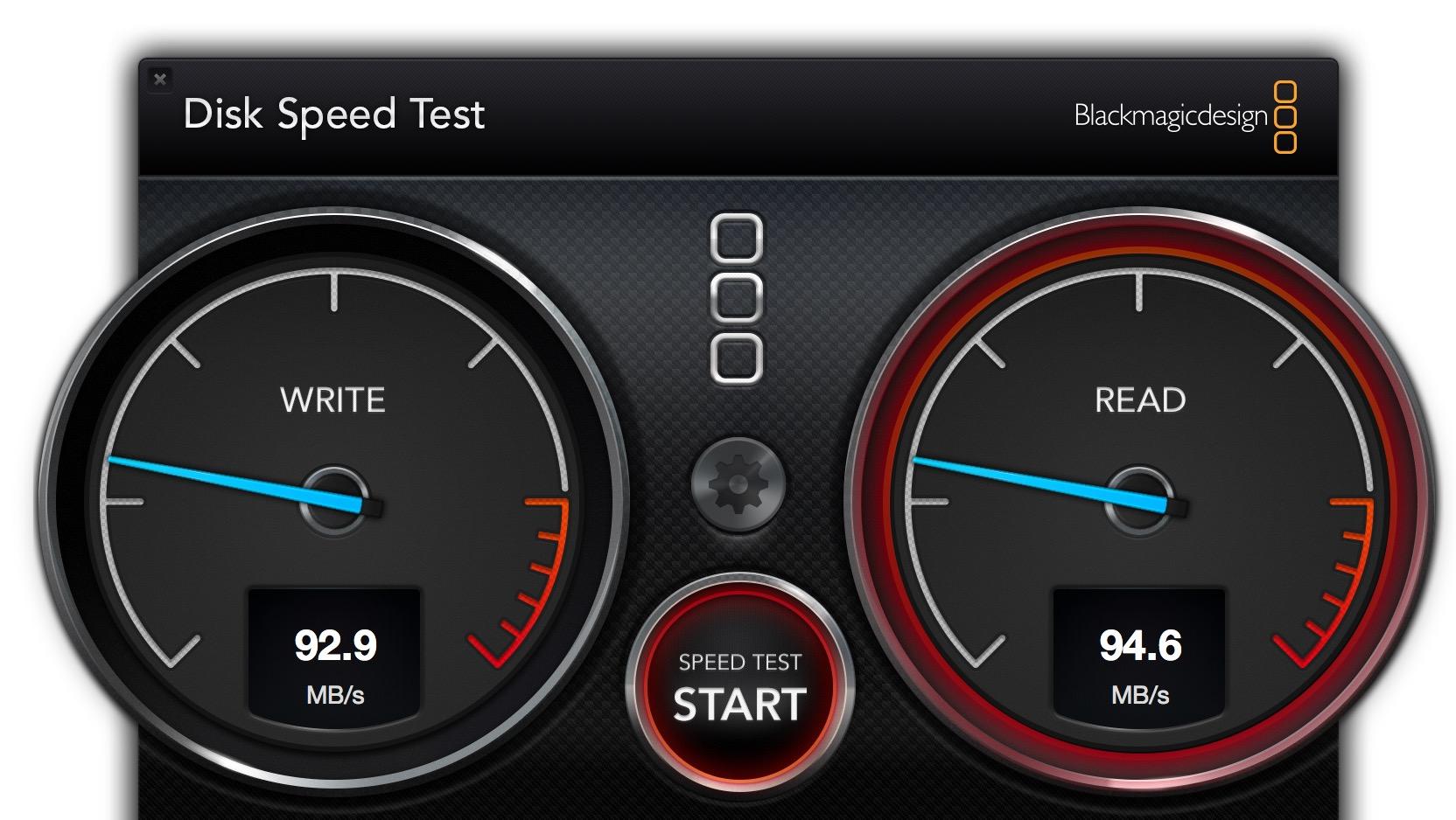 lacie rugged speed