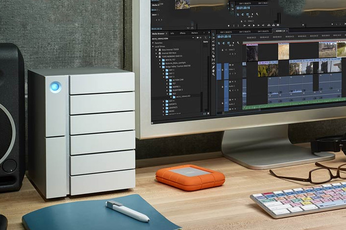 LaCie Bolt 3: world's fastest desktop drive