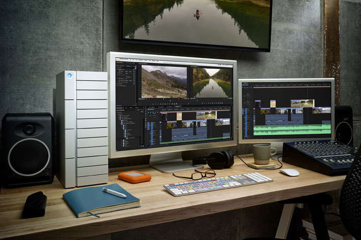 LaCie Thunderbolt 3 at NAB 2016