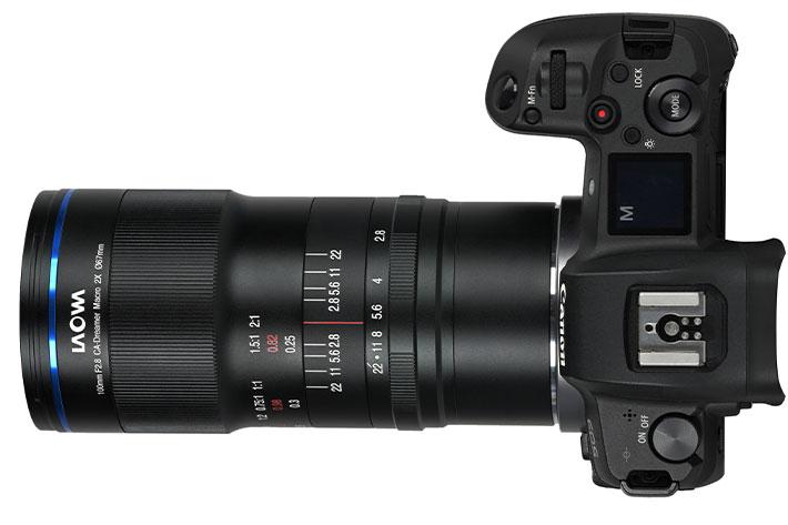 Laowa 100mm f/2.8 2X Ultra Macro APO lens for Canon RF and Nikon Z