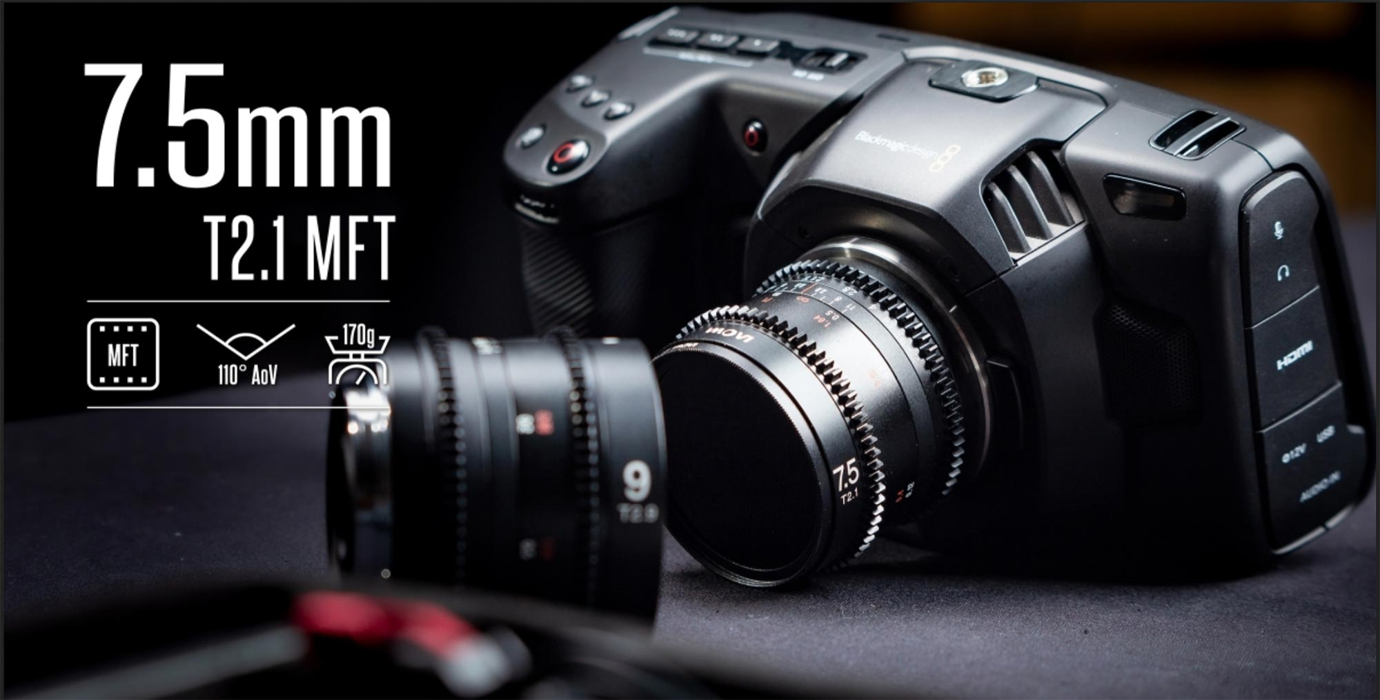 New Laowa Cine lenses for MFT, Super 35 and large format cinema cameras