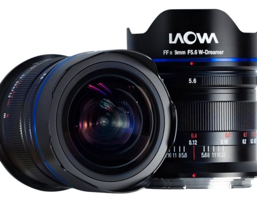 Laowa 9mm f/5.6 FF RL: the world's widest rectilinear lens