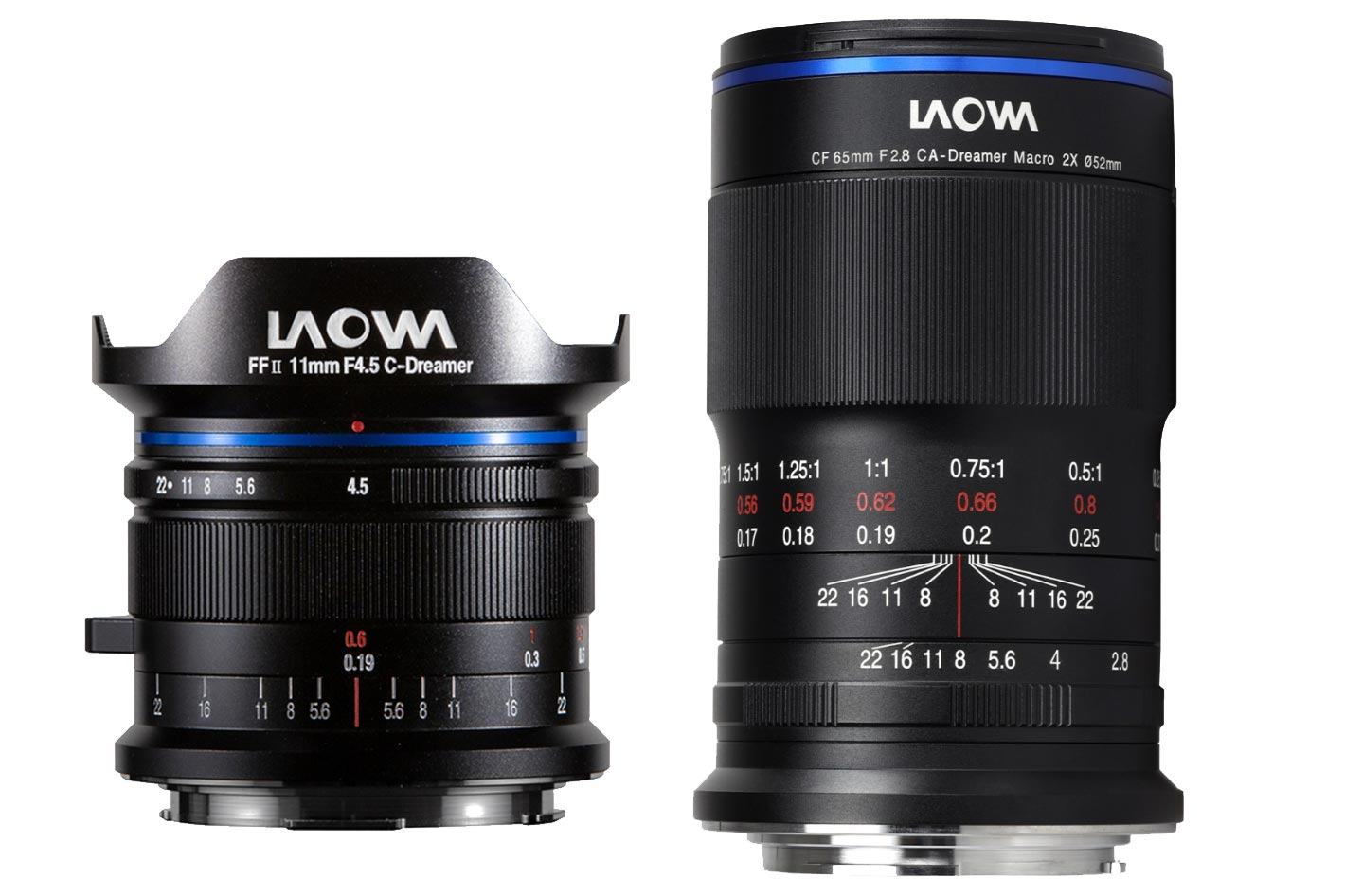 Laowa's new lenses for Canon RF and Nikon Z