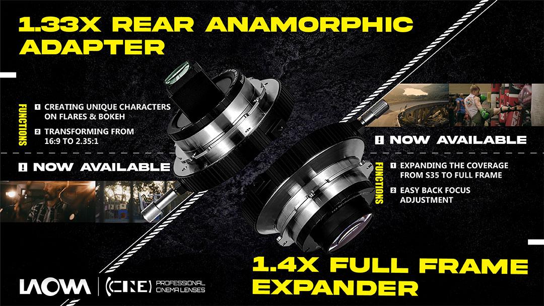 Venus Optics announces 1.33x Rear Anamorphic Adapter