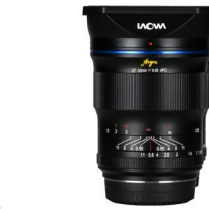 The new Laowa Argus 33mm f/0.95 CF APO for APS-C