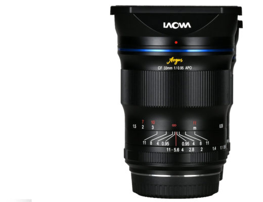 The new Laowa Argus 33mm f/0.95 CF APO for APS-C